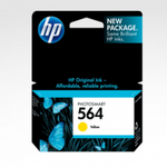 HP 564 Ink Genuine Printer Cartridge Yellow