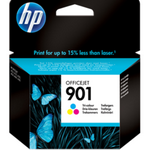 HP 901 Tri-color Original Ink Cartridge - Cc656ae