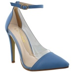 Liliana Women's Baby Blue Olga Pump