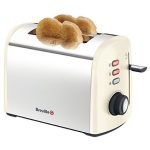 Breville+Collection+Stainless+Steel+2+Slice+Toaster+-+Cream