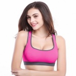 Nice No-bounce Full Support Sport Bra - Rose Red