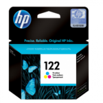 HP Genuine 122 Colour Ink Printer Cartridge