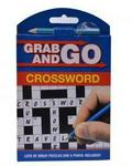 Alligator Books Grab & Go Crosswords- Multicolour
