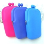 Silicone+Cell+Phone+Pouch+-+Set+Of+3+Colours
