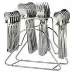 24 Pieces Cutlery With Stand