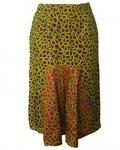 Amber Pencil Skirt With Gore Detail - Multicolour