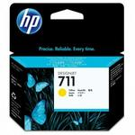 HP 711 29-ml Yellow Ink Cartridge -cz132a