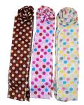 Universal Set Of 3 Jenny Hair Muffler Clip - Multicolour