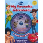 Disney My Favourite Adventures Story Books
