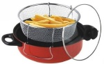 Precisefeet Store 3-in-1 Non Stick Manual Deep Fryer