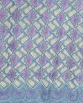 SWISS LACE Lace Fabric- And Lilac Purple