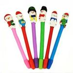 Christmas Ball Pen Pack Of 10