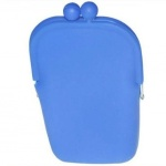 Silicone+Cell+Phone+Pouch+-+Blue
