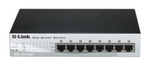 D-Link 8 Port 10/100base-t Poe Smart Switch Des-1210-08p